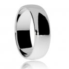 Stříbrný prsten, jednoduchý hladký