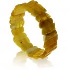 Jantarový náramek - Žlutý