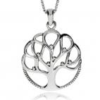 Stříbrný přívěsek - Strom života bez kořenů