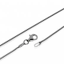 Stříbrný řetízek, hranaté články - 50 cm
