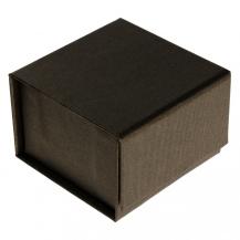 Dárková krabička na šperky v hnědé barvě