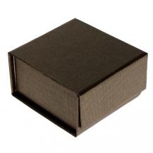 Luxusní dárková krabička v hnědé barvě