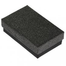 Dárková krabička, černo-stříbrná