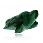Figurka z malachitu, želva