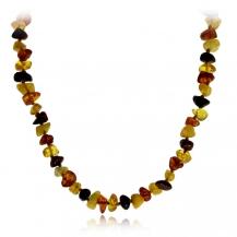 Jantarový náhrdelník jemný 31 cm