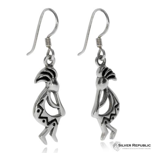 Stříbrná sada šperků - Postava Indiána