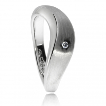 Stribrne Prsteny A Pravymi Diamanty Silver Republic