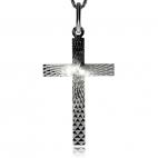 Stříbrný přívěsek - Motiv kříže