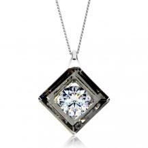 Stříbrný náhrdelník Preciosa Precious Chrome 5116 40L - 45cm