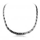 Stříbrný náhrdelník, řecký motiv