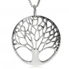 Stříbrný přívěsek - Strom života košatý