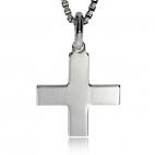 Stříbrný přívěsek - Tvar kříže