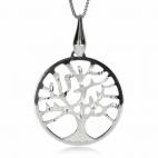 Stříbrný přívěsek - Strom života matovaný