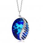 Ocelový náhrdelník Fairy Tale Fantasy Bermuda Blue 7222 46 - 45cm