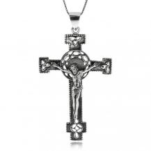 Stříbrný přívěsek - Kristus na kříži