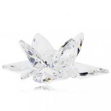 Křišťálová figurka Preciosa Leknín (krystal) 1175 00
