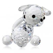 Křišťálová figurka Preciosa Pejsek - mini 0898 00