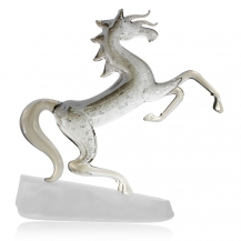Křišťálová figurka Preciosa Mustang 1181 48