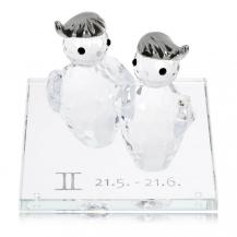Křišťálová figurka Preciosa Zvěrokruh - Blíženci 1200 86