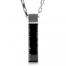 Ocelový náhrdelník Preciosa Jack Chrome 7261 40 - 50cm