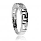 Stříbrná sada šperků - Řecké vzorování