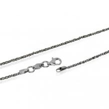 Stříbrný řetízek třpytivý, Daisy - 60 cm